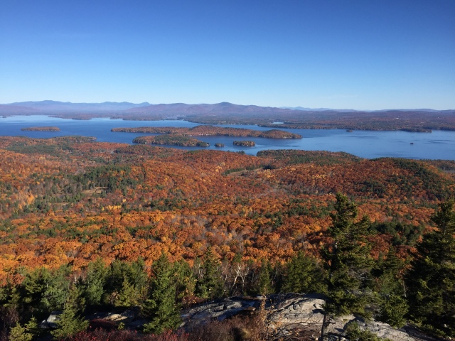 Lake Winnipesaukee, amazing colors