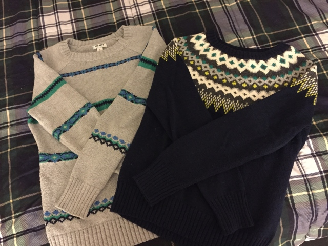 Fair Isle Style Sweaters from Old Navy