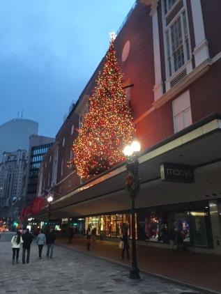 Beautiful tree at Macy's