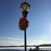 Festive light post!