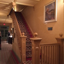 I love a good oldfashioned staircase