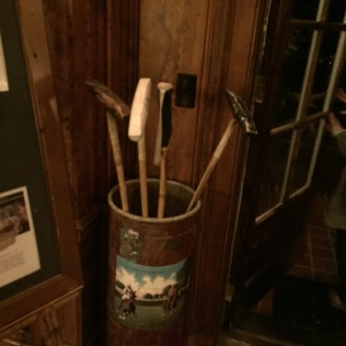 Leave your polo mallet at the door please.