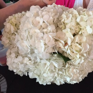 Centerpieces at all the tables