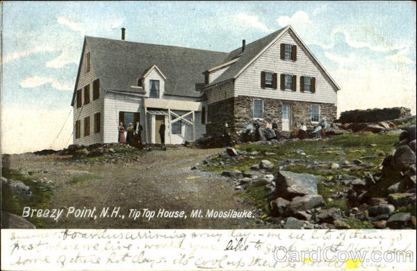 Tip Top House, Moosilauke Breezy Point, NH