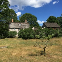 The Old Manse from the riverside