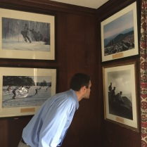 Photos in a side room