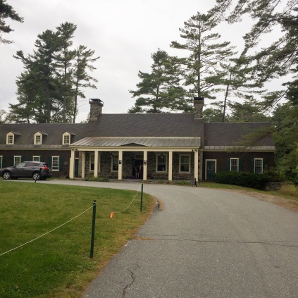 Front of the clubhouse
